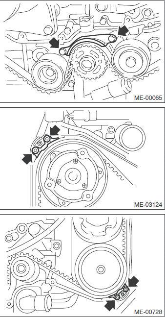 Ремень ГРМ двигатель 1.5
